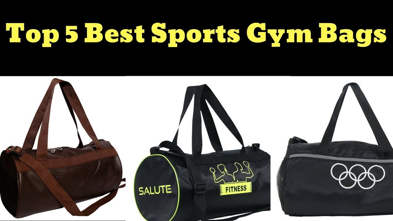 df6e074eccb8 Top 5 Best Sports Gym Bags in India with Online Lowest Price - YouTube
