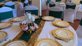 The Grand Ballroom at Royal Ballroom Event Venue