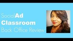Social Ad Classroom | Social Ad Classroom Back Office Review