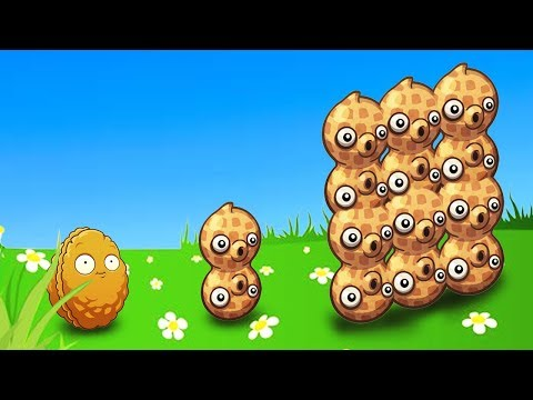 PEANUT WALL - BIGGEST Evolution possible? // Plants vs Zombies 2