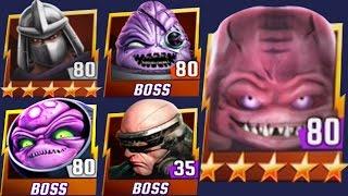 Teenage Mutant Ninja Turtles: Legends - All New Bosses