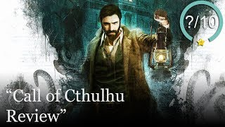 Call of Cthulhu Review [PS4, Xbox One, & PC] (Video Game Video Review)