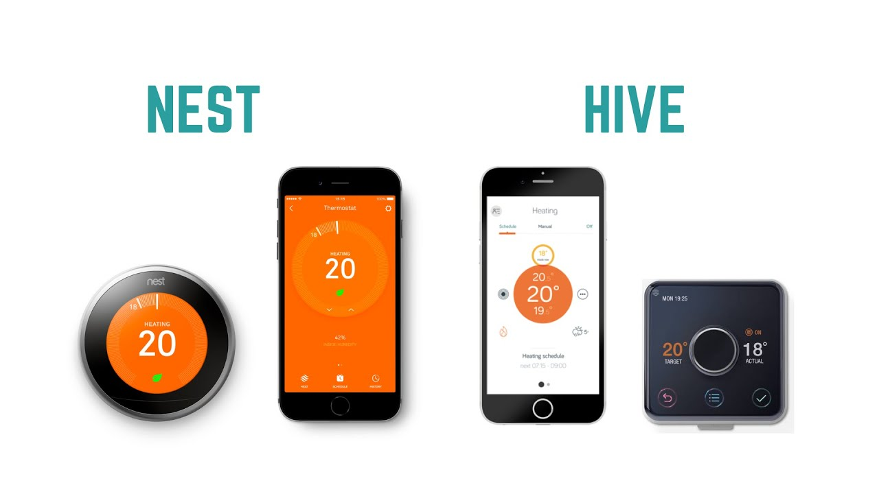 Nest vs Hive - Which is the Best Smart Thermostat for you