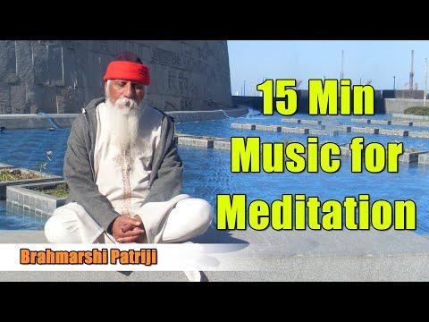 Patriji Music for Meditation | 15Min Music for Meditation | Flute Sitar Mridangam | Meditation Music