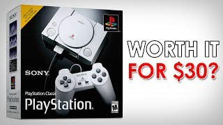 PlayStation Classic: Worth it for $30?
