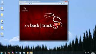 Install Linux Backtrack 5 r3 in a Virtual Machine with VMware Player ISO