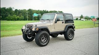 Davis AutoSports 2004 Jeep Wrangler Rubicon For Sale / Lifted / Low Miles