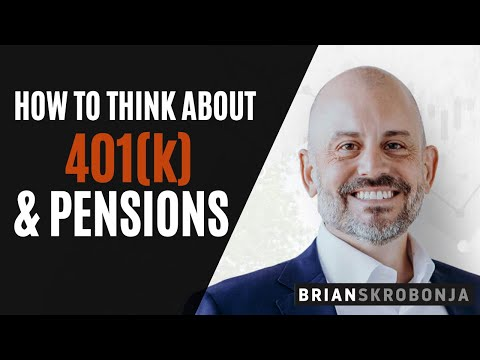 The Common Sense Financial Podcast: Positioning Your 401k and Pension Assets