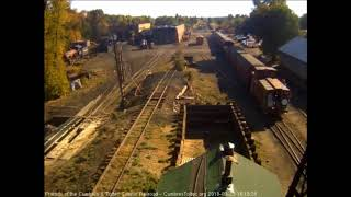 9/23/2018 Nine car train 215 arrives into Chama, NM