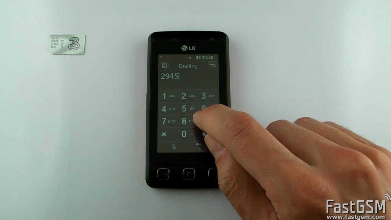 How to flash LG KP 500 32