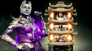 Mortal Kombat 11 Sindel Gameplay Klassic Tower Walkthrough MK11 (No Commentary)