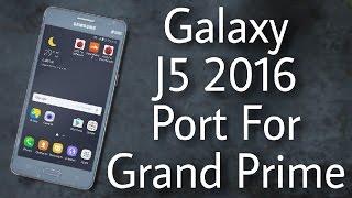 Galaxy J5 2016 (Enigma E2) Port on Galaxy Grand Prime