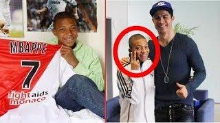 Kylian Mbappe và trận đấu đầu tiên đối đầu thần tượng của anh Ronaldo