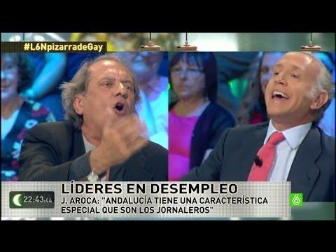 laSexta Noche  Tensión en el plató entre Javier Aroca y Eduardo Inda