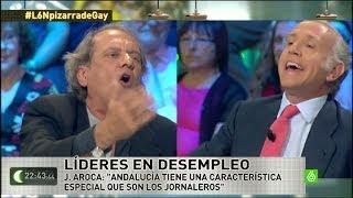 laSexta Noche - Tensión en el plató entre Javier Aroca y E...