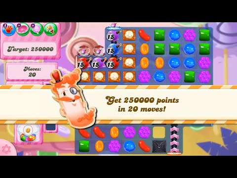 Candy Crush Saga Level 2820 NEW FORMAT no boosters