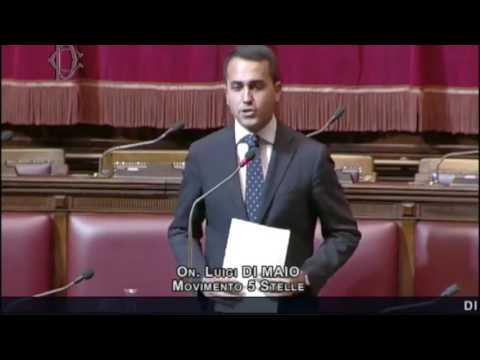 Luigi DI Maio  Intervento alla Camera del 18 Luglio 2016