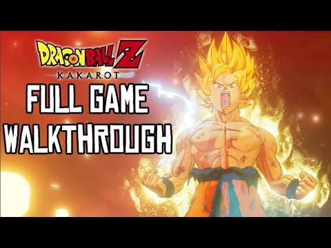 Dragon Ball Z Kakarot FULL GAME Walkthrough (PS4 Pro) No Commentary Gameplay @ 1080p ᴴᴰ ✔