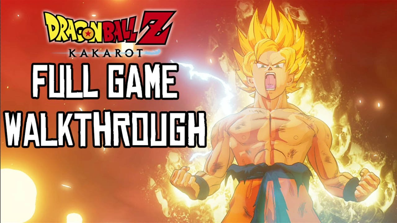 Download Dragon Ball Z Kakarot FULL GAME Walkthrough (PS4 Pro) No Commentary Gameplay @ 1080p ᴴᴰ ✔