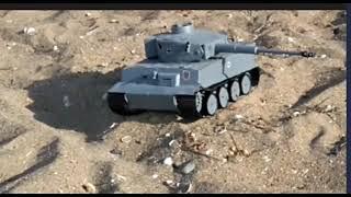 Подвиг Єйського танка - Tank models battle Tigr 1 і Т-34-85 (кульмінація в кінці)