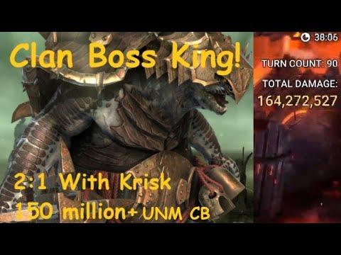 Download My Best Key Yet - Raid Shadow Legends Ultra-Nightmare Clan Boss 2:1 Team with Krisk