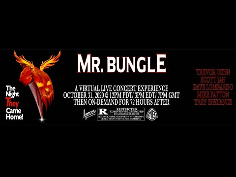 Mr. Bungle to hold virtual livestream concert 'The Night They Came Home!' w/ new merch!