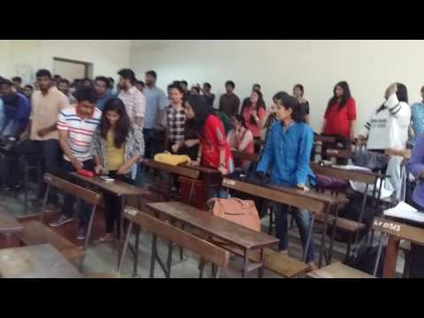 ILS Law college Pune #Batch of 2012-2017 #5thBSL B division #Flashmob on lastday of college