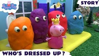 Peppa Pig Play Doh Egg Surprise Dressing Up Fairy Story Thomas The Tank Queen Playdough Episode