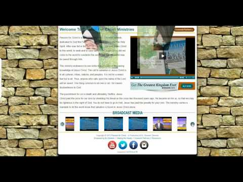 Church Ministry Web Design Huntsville Alabama