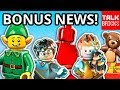 BONUS LEGO NEWS! Black Friday Deals! Sales! Holiday Gift Exclusive! Future LEGO Set Details?!