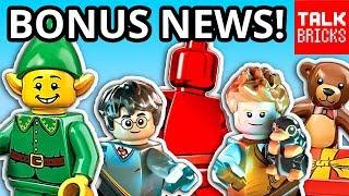 BONUS LEGO NEWS! Black Friday Deals! Sales! Holiday Gift Exclusive! Future LEGO Set Details?!