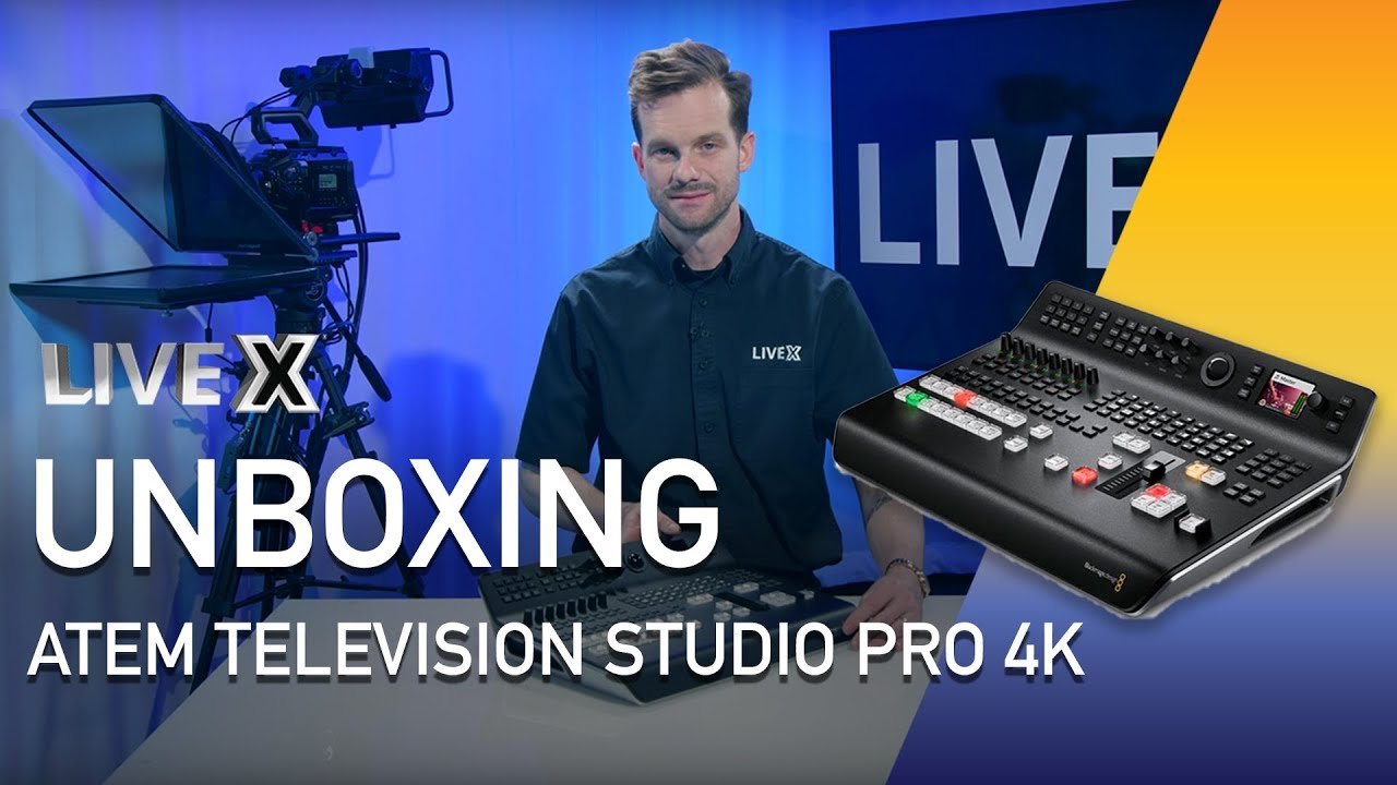 Unboxing Atem Television Studio Pro 4k Youtube