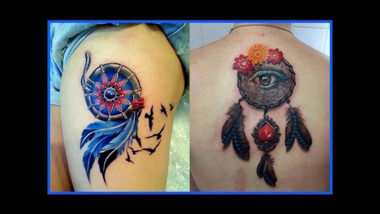 Atrapasueños Tatuajes Para Mujeres Youtube