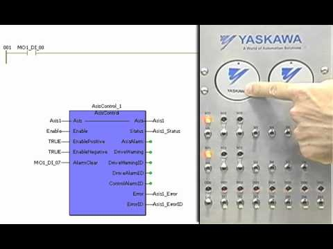 Camming Demonstration - Yaskawa MP2300Siec Motion Controller