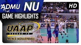 ADMU vs NU | Game Highlights | UAAP 79 MV | May 6, 2017