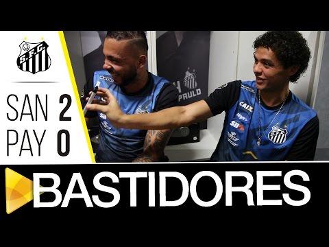Santos 2 x 0 Paysandu | BASTIDORES | Copa do Brasil (27/04/17)