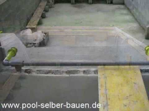 schwimmbad poolbau teil 3 youtube. Black Bedroom Furniture Sets. Home Design Ideas