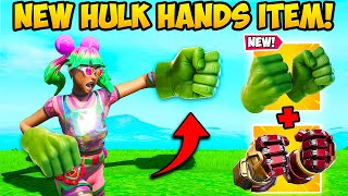 *NEW* HULK HANDS ARE HERE!! - Fortnite Funny Fails and WTF Moments! #990
