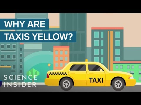 Why Are Taxicabs Yellow?
