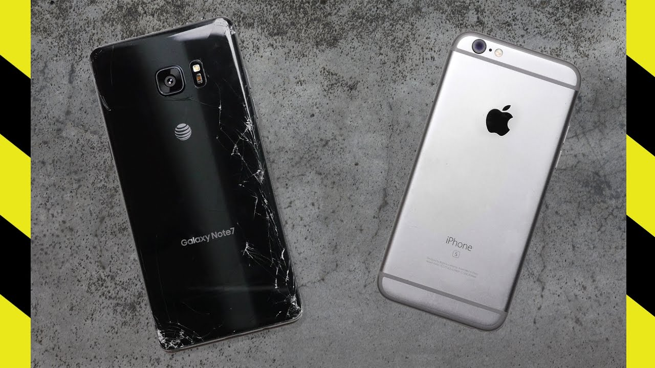 Galaxy note 7 official image gallery feast your eyes on samsung - Galaxy Note 7 Vs Iphone 6s In The Latest Drop Test Who Will Emerge The Victor