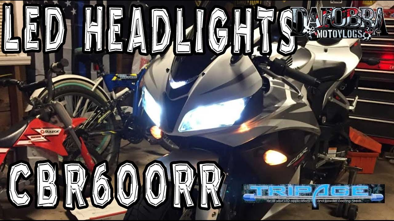 Dual High Low Led Headlights