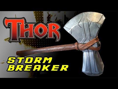 How to Diy Thor Stormbreaker Avengers Infinity Wars