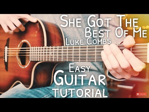 She Got The Best Of Me Luke Combs Guitar Tutorial // She Got The Best Of Me Guitar Lesson