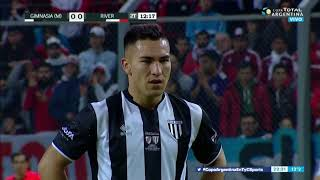 River-Gimnasia (M): Lux le tapó el penal a Morales