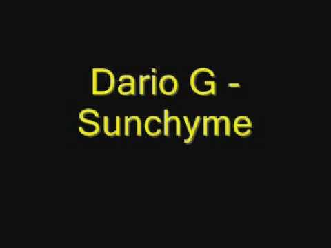 Dario G  Sunchymewmv