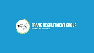 Frank recruitment group ribbon-cutting