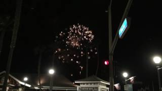 HB Pier Fireworks Show, July 4th, 2016, 3