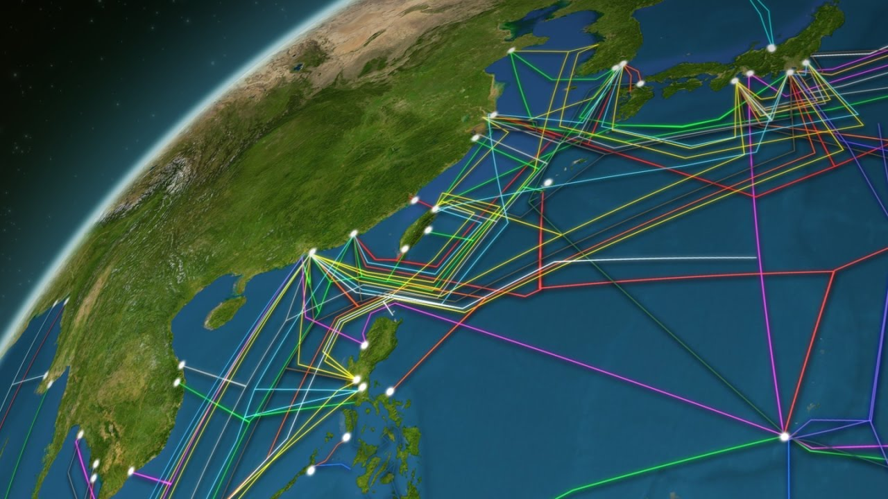 Animated Map Reveals The 550 000 Miles Of Cable Hidden