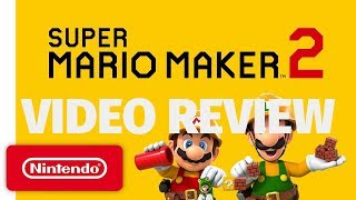 Super Mario Maker 2 Review - Zen and the Art of Level Design (Video Game Video Review)