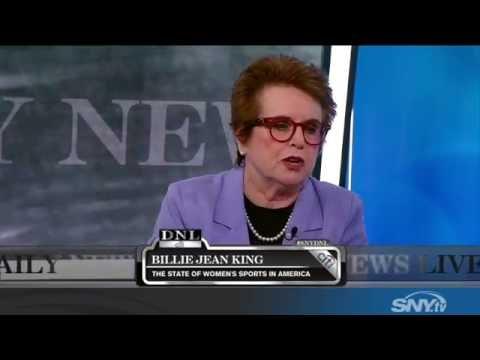 Billie Jean King talks 2016 US Open